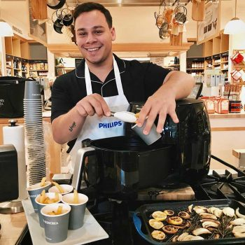 Philips Air Fryer Cooking Demonstration